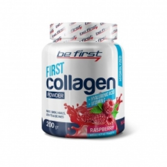 Be First Collagen + hyaluronic acid + vitamin C 200 гр Экзотик