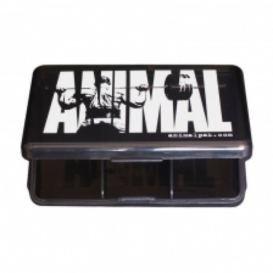 "Animal ""Energy"" Iconic Black Pill Case"